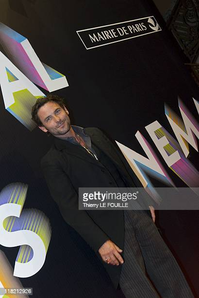 Sagamore Stevenin attends the 'Polisse' Premiere during the Paris Cinema Festival at the Gaumont Opera on June 30 2011 in Paris France