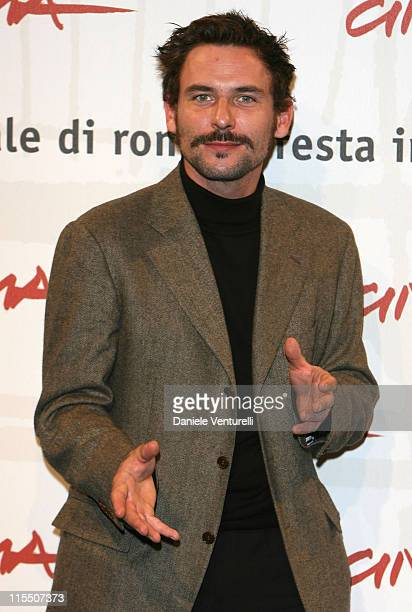 Sagamore Stevenin during 1st Annual Rome Film Festival 'Cage' Photocall at Auditorium in Rome Italy