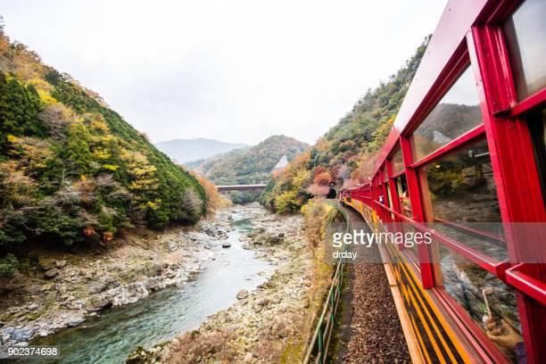 嵯峨野鉄道 - 佐賀県 ストックフォトと画像