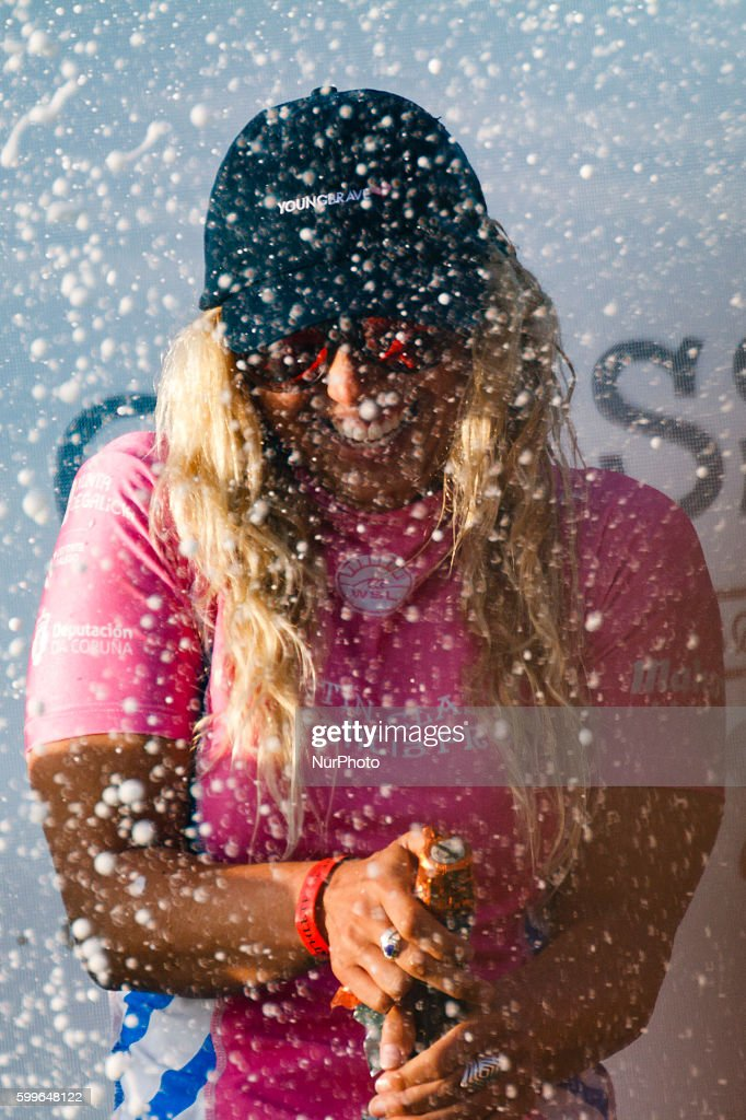 Sage Erickson during Pantin Classic Galicia Pro 2016, Qualifying Series 6,000 of World Surf League (WSL) celebrated in the Pantin beach, A Coruña, Galicia, Spain on 30 August - 4 September, 2016.