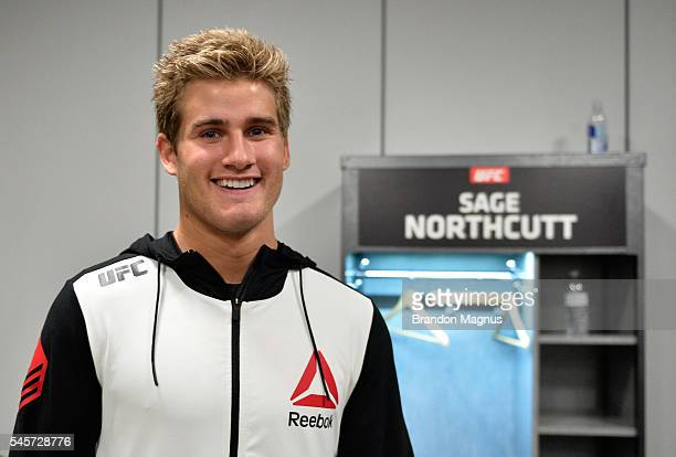 Sage Northcutt backstage during the UFC 200 event on July 9 2016 at TMobile Arena in Las Vegas Nevada