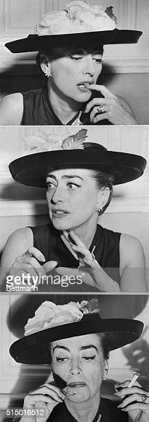 Sage Observations of a Star Who Stayed On Top New York Motion picture star Joan Crawford who has been a star for 30 years is shown in three studies...