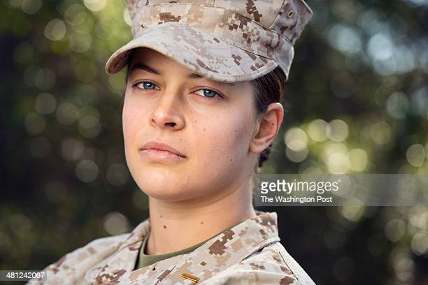 Sage Santangelo 2nd Lieutenant in the United States Marine Corps attends flight school at Pensacola Naval Air Station in Pensacola FL