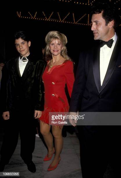 Sage Stallone Sasha Stallone And Frank Stallone during 5th Annual California Fashion Industry Friends of Aids Project Los Angeles Benefit Honors...