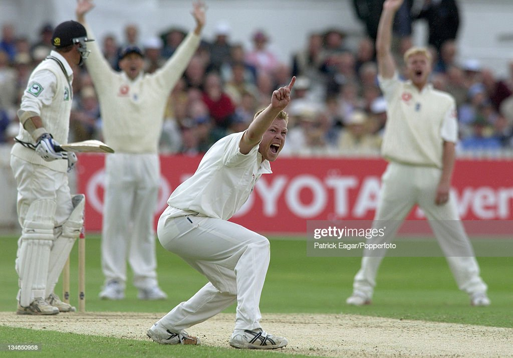 England v New Zealand, 3rd Test , Trent Bridge, June 2004 : News Photo