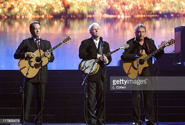 Saggy Bottom Boys performance with Tom Hanks Steve Martin and Eric Idle at Earth to America which airs on TBS Sunday November 20 at 8 pm...