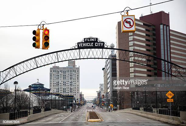 Saginaw Street in downtown is shown on February 7 2016 in Flint Michigan Months ago the city told citizens they could use tap water if they boiled it...