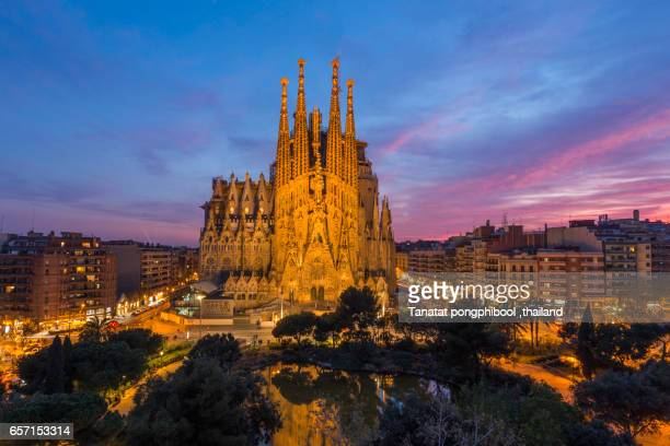 Sagrada Familia at Spain, Barcelona.