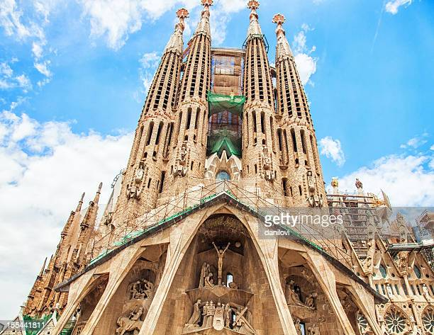 sagrada familia, barcelona - sagrada familia stock pictures, royalty-free photos & images