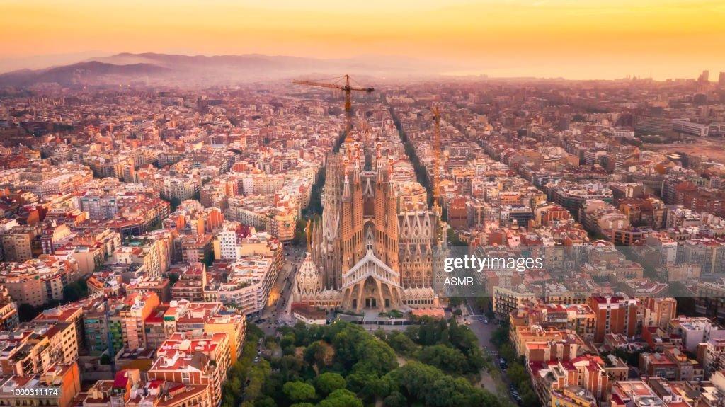 Sagrada Familia Barcelona Spain : Stock Photo