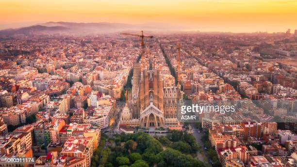 sagrada familia barcelona spain - catalonia stock pictures, royalty-free photos & images