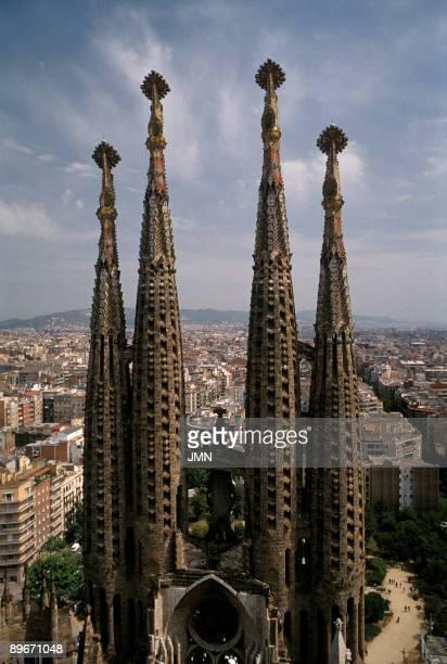 Sagrada Familia Cathedral Barcelona Style Modernism XXth century