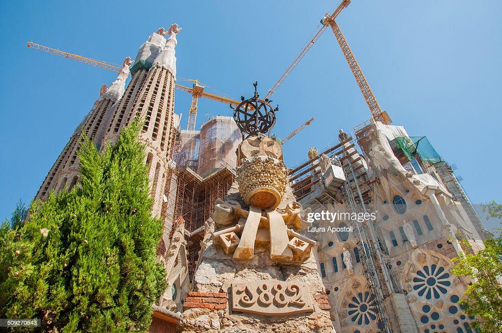 Sagrada Familia in Barcelona : Stock Photo
