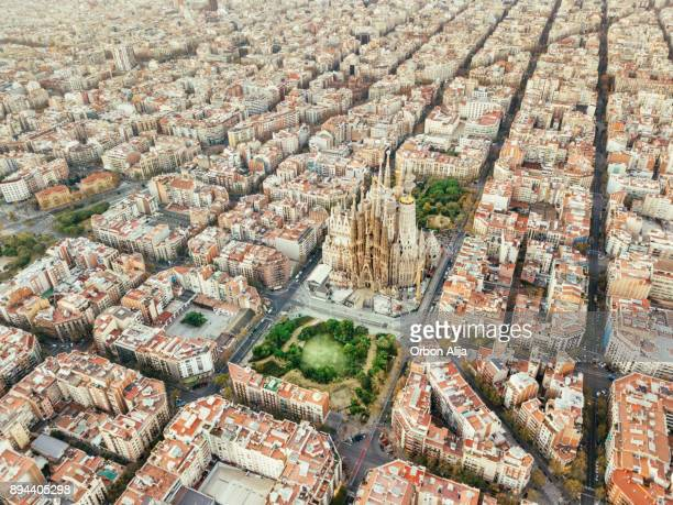 sagrada familia in barcelona - barcelona spain stock pictures, royalty-free photos & images