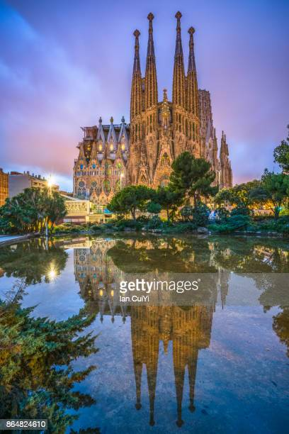 sagrada família, barcelona - sagrada familia stock pictures, royalty-free photos & images