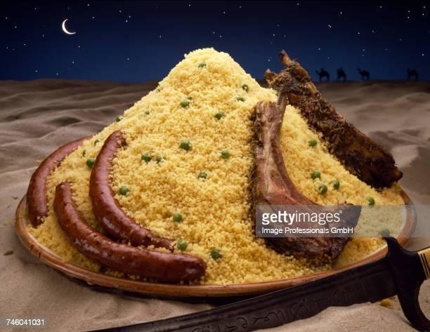 sahara coucous - couscous photos et images de collection
