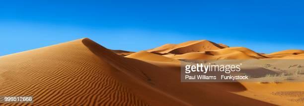 Sahara sand dunes of erg Chebbi, Morocco