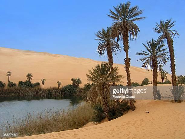 Sahara, Ubari Lakes, Lybia