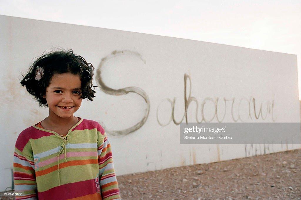 The Saharawi refugee camp in Algeria : News Photo