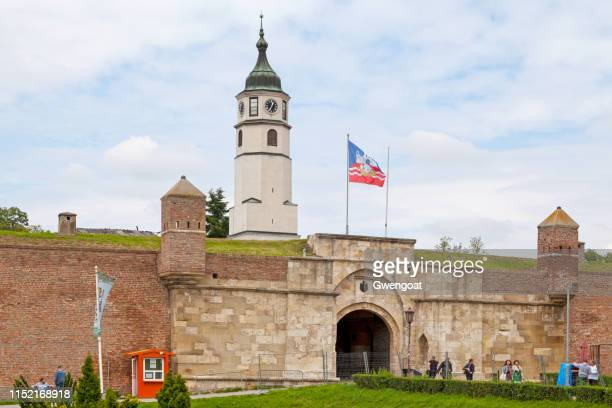 Sahat Gate & Sahat Tower of the Belgrade Fortress