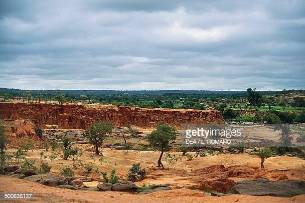 Sahel landscape near Bandiagara Mali