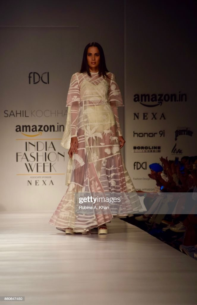 Sahil Kochhar S Collection At The Fashion Design Council Of India S News Photo Getty Images