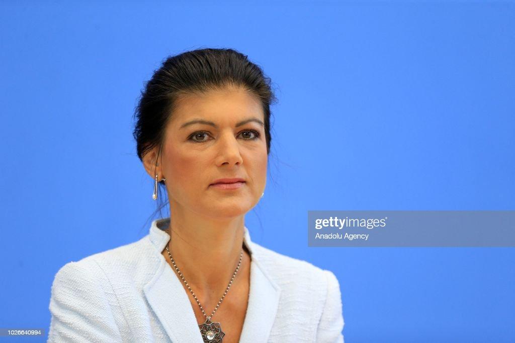 Sahra Wagenknecht Gallery: Sahra Wagenknecht, Bundestag Faction Leader Of Die Linke