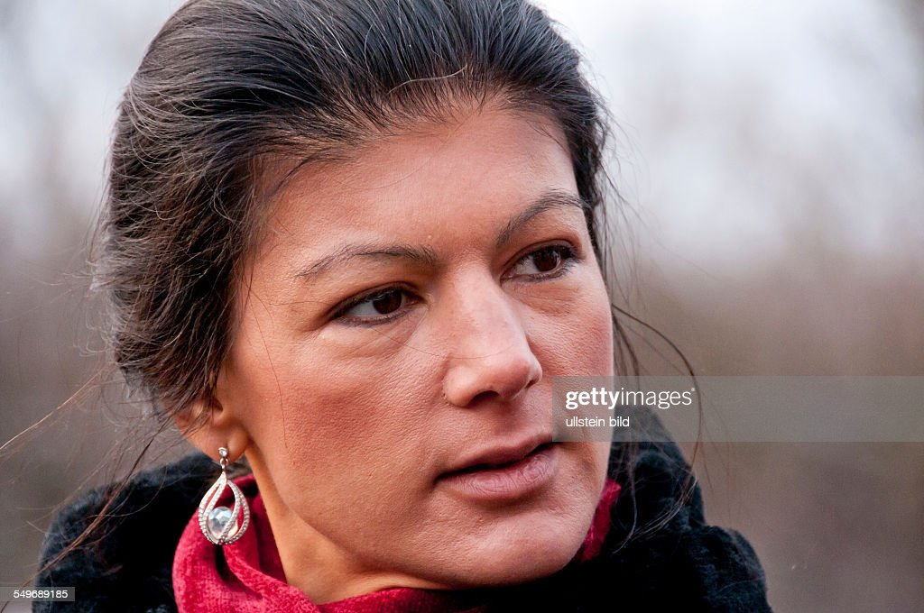 Sahra Wagenknecht Gallery: Sahra Wagenknecht, Politikerin Der Linken