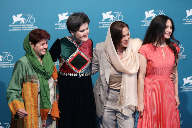 "ITA: ""Hava, Maryam, Ayesha"" Photocall - The 76th Venice Film Festival"