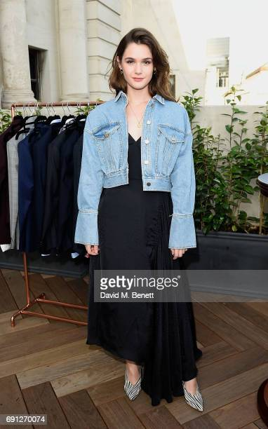 Sai Bennet attends a Fine Tailoring Dinner hosted by Charlie CaselyHayford and Topman at The Ned on June 1 2017 in London England