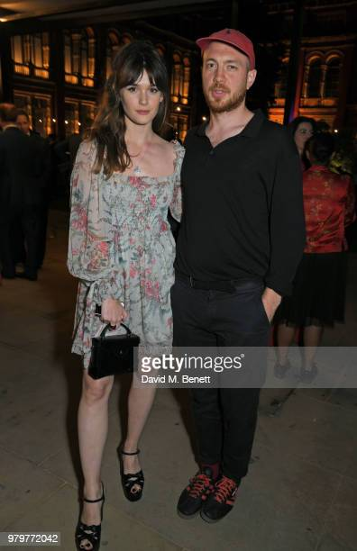 Sai Bennett and Tom Beard attend the Summer Party at the VA in partnership with Harrods at the Victoria and Albert Museum on June 20 2018 in London...