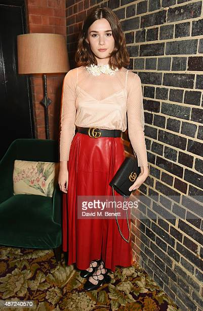 Sai Bennett attends a dinner party hosted by Leith Clark to celebrate the latest issue of her biannual style bible 'Violet' featuring British Actress...