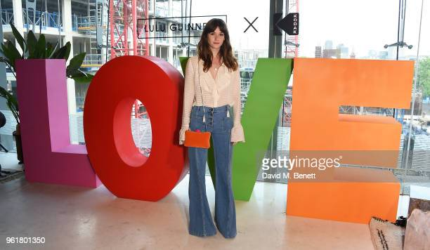 Sai Bennett attends Lulu Guinness x Kodak Party on May 23 2018 in London England
