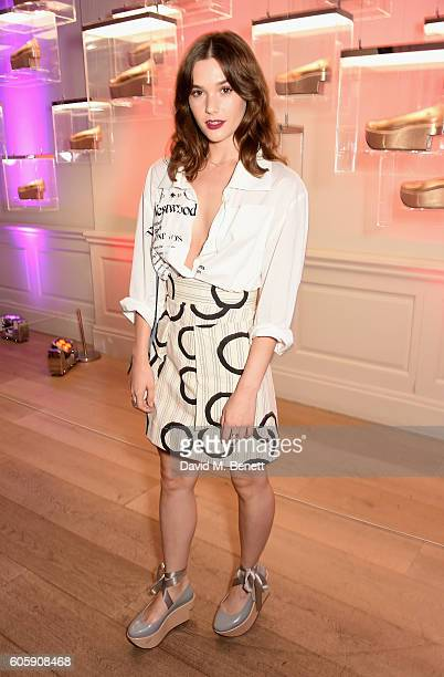 Sai Bennett attends Melissa X Vivienne Westwood Anglomania Ride The Rocking Horse at Galeria Melissa on September 15 2016 in London United Kingdom