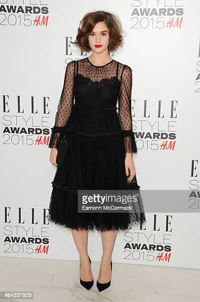 Sai Bennett attends the Elle Style Awards 2015 at Sky Garden @ The Walkie Talkie Tower on February 24 2015 in London England
