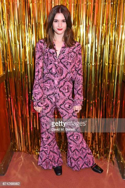 Sai Bennett attends the Gucci and iD party celebrating the Gucci PreFall 2017 campaign at the Mildmay Club in Stoke Newington on April 27 2017 in...