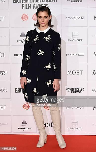 Sai Bennett attends the Moet British Independent Film Awards at Old Billingsgate Market on December 7 2014 in London England