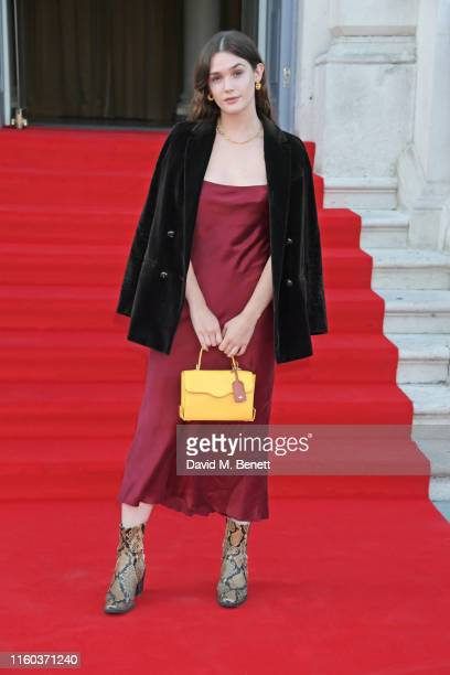 Sai Bennett attends the opening night of Film4 Summer Screen at Somerset House featuring the UK Premiere of Pain And Glory on August 8 2019 in London...