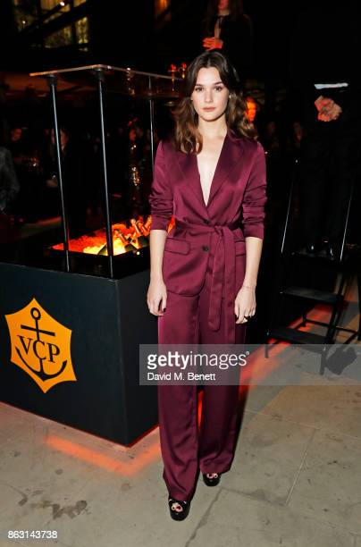 Sai Bennett attends The Veuve Clicquot Widow Series By Carine Roitfeld And CR Studio on October 19 2017 in London England