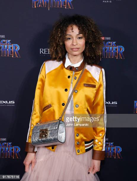 Sai De Silva attends Marvel Studios Presents Black Panther Welcome To Wakanda during February 2018 New York Fashion Week The Shows at Industria...