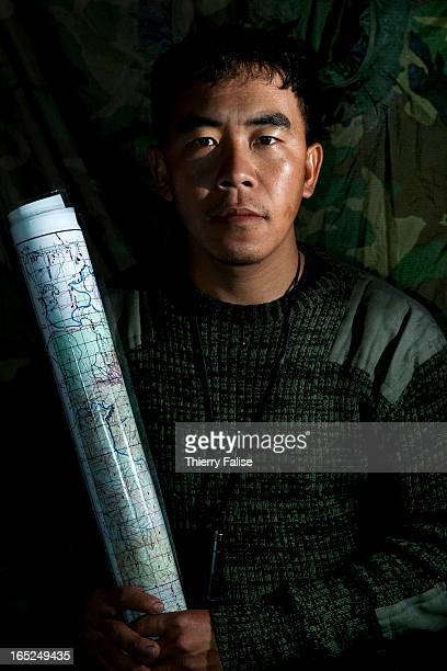 Sai Noung an ethnic Shan team leader with the Free Burma Rangers
