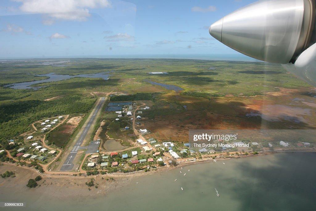 Saibai Island: Saibai Island In The Torres Strait. King Tides And Strong