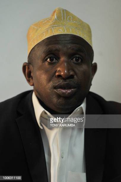 Said Ali Chayhane Comoros' Finance Minister gives an interview at his offices in Moroni on July 27 where an upcoming referendum has caused political...