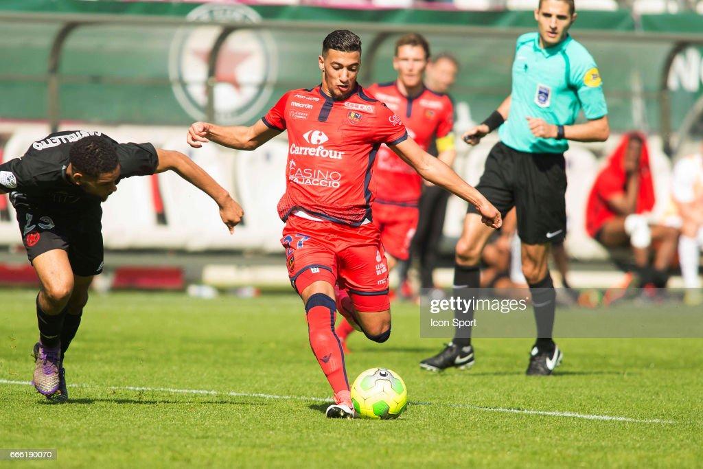 Red Star FC v Gazelec Ajaccio - Ligue 2 : News Photo