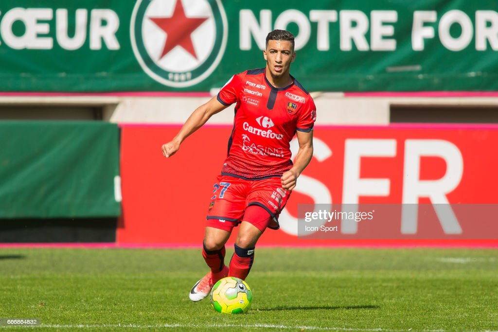 Red Star FC v Gazelec Ajaccio - Ligue 2 : News Photo
