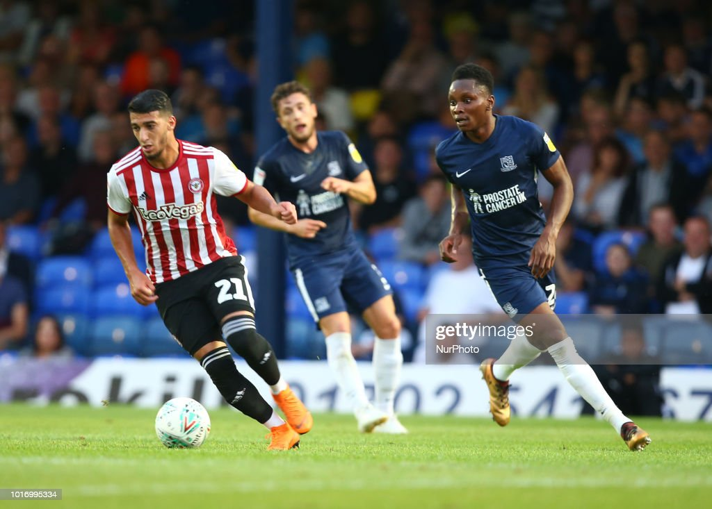 Southend United v Brentford - Carabao Cup First Round : News Photo