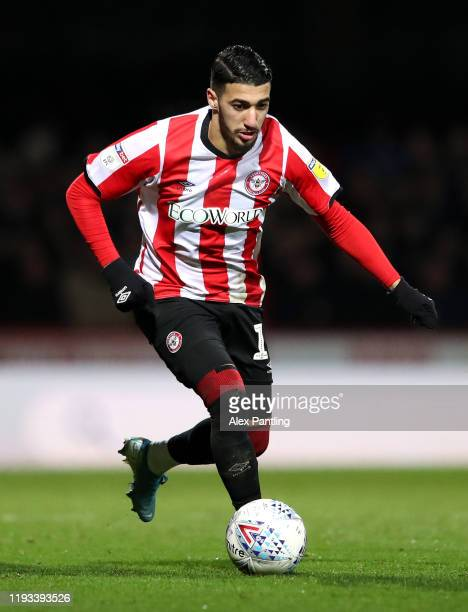 Said Benrahma of Brentford during the Sky Bet Championship match between Brentford and Cardiff City at Griffin Park on December 11 2019 in Brentford...