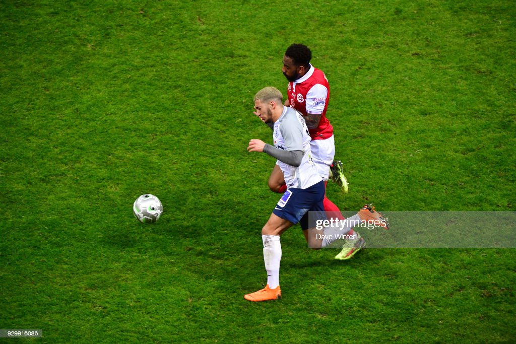 Reims v Chateauroux - French Ligue 2 : News Photo
