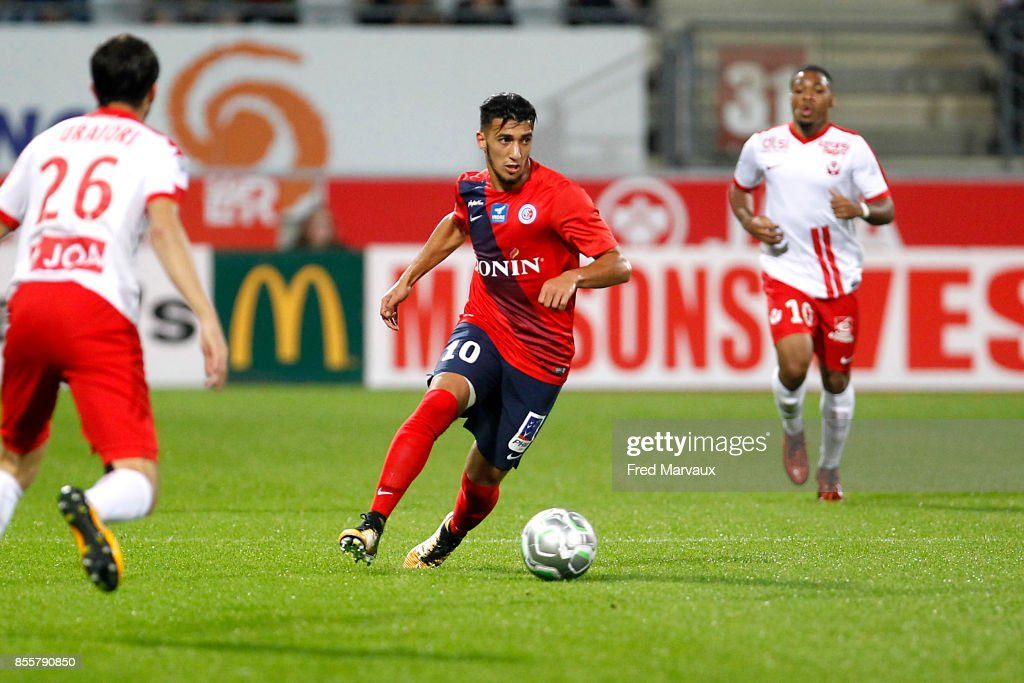 As Nancy Lorraine v Chateauroux - Ligue 2 : News Photo