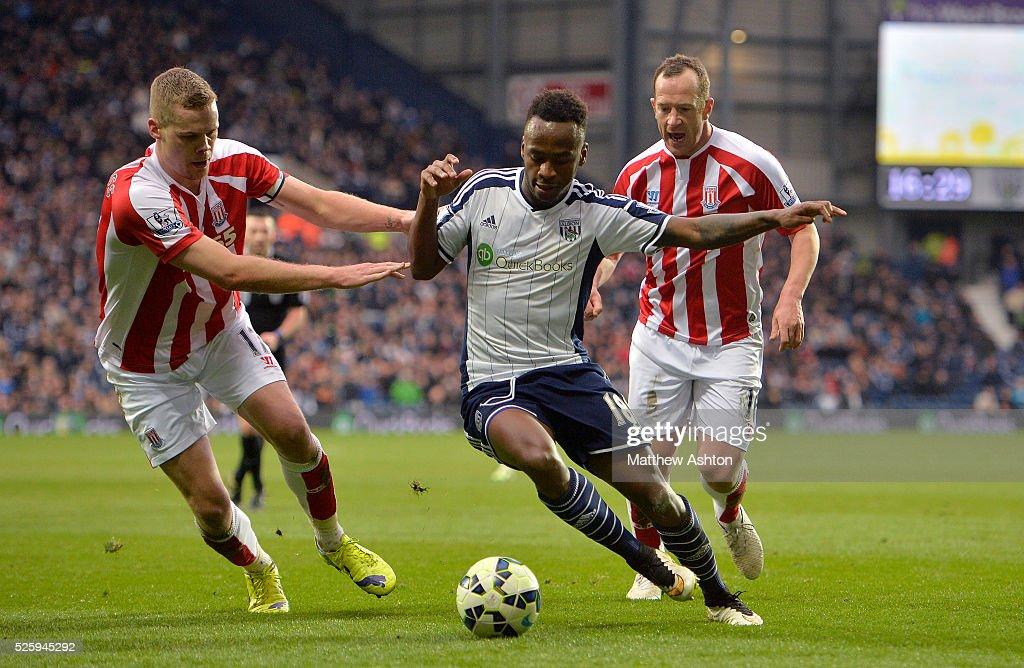 SOCCER : Barclays Premier League - West Bromwich Albion v Stoke City : News Photo